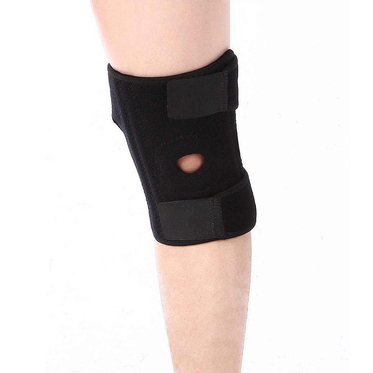 NEW Safurance Outdoor Sports Leg Knee Patella Compression Protector Brace Support Pad Sleeve Workplace Safety Kneepad knee patella sport support guard pad protector brace strap stabilizer protection white