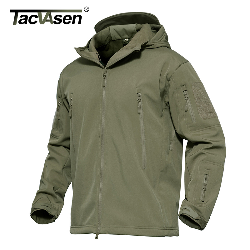 TACVASEN Softshell Navy Tactical Jacket Males Waterproof Heat Coat Winter Camouflage Hooded Jacket Military Clothes TD-YCXL-038 military clothes, army tactical jacket, tactical jacket,Low-cost military clothes,Excessive High quality army tactical...