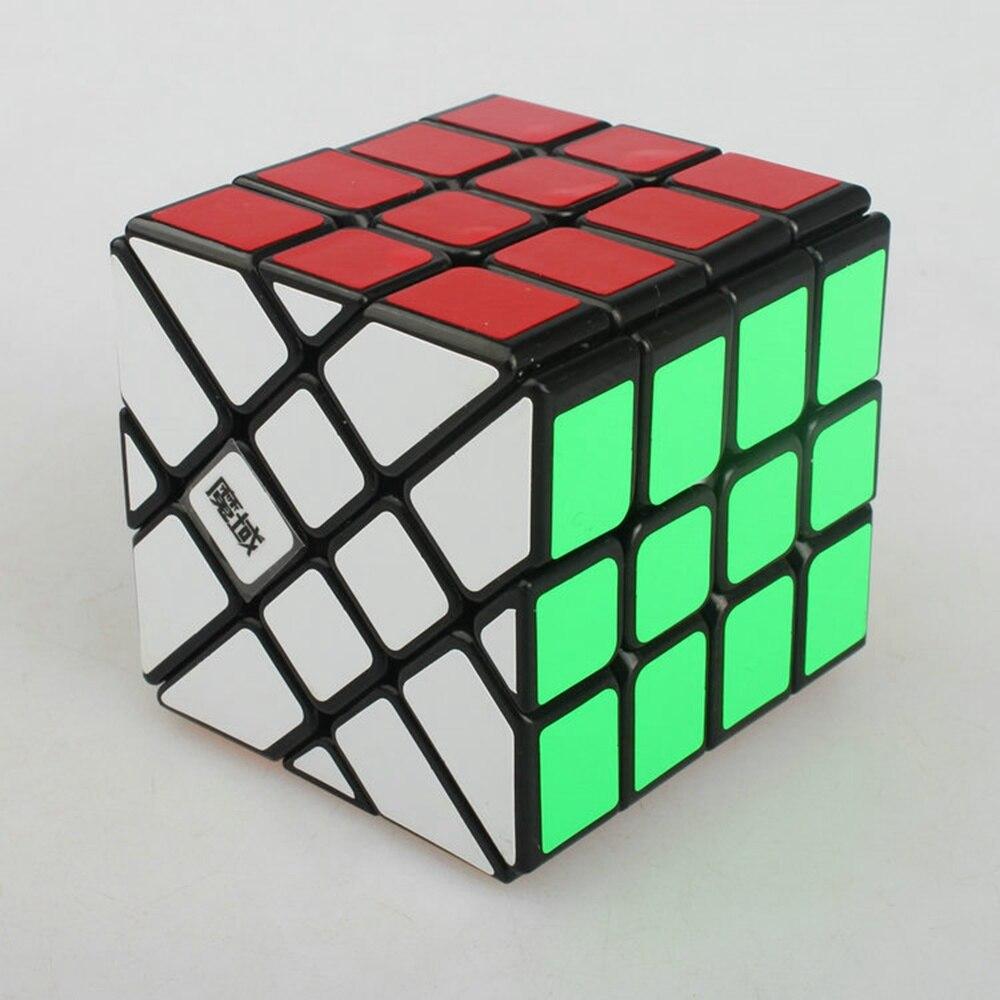 Yongjun YJ Moyu AoSu 62mm 4x4x4 fou pêcheur vitesse biais magique Cube Collection Puzzle Cubes jouet éducatif