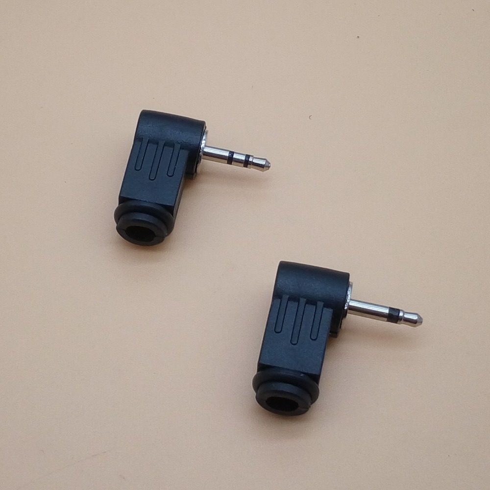 Online Shop 2pcs 25mm Stereo Headset Plug 4 Pole 25 Mm Audio Telephone Jack Wiring 3 5pcs Dual Channel Steoro Male 2