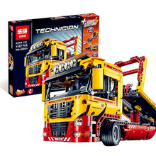 Lepin Technic Series 1143pcs Building Blocks toys for Childrens Flatbed Truck Bricks toy gifts Compatible Legoe Technic 8109(China)