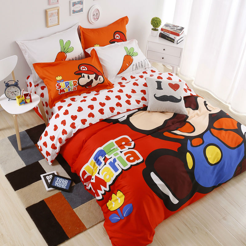 Popular super mario sheets buy cheap super mario sheets for Super cheap bedroom sets