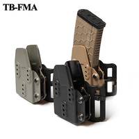 TB FMA Tactical Airsoft Kydex AR Mag Pouch Carrier 5.56 Black for Belt Support Hunting & Airsoft Free Shipping