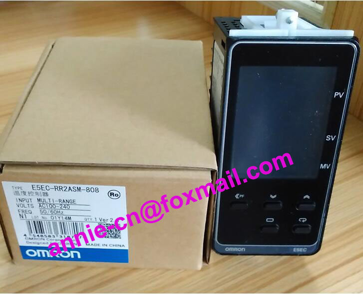 ФОТО 100%New and original  E5EC-QR2ASM-808, E5EC-RR2ASM-808  OMRON  Temperature controller  AC100-240V