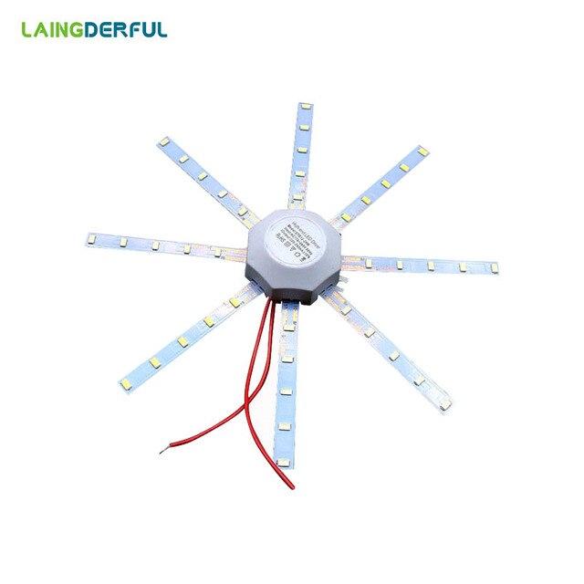 LED Celling Lamp Light Board Tube Energy Saving Lamp 5730SMD 24LED/32LED/40LED/48LED Octopus Board Round Light Indoor Lighting