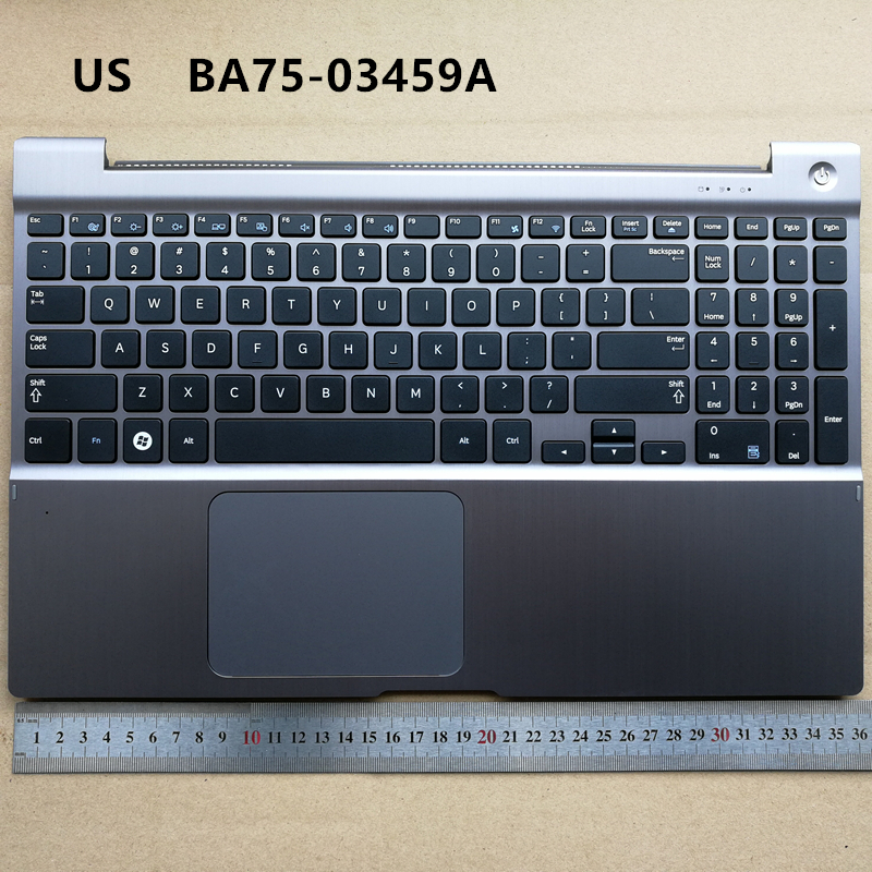 все цены на US no-backlit new laptop keyboard with touchpad palmrest for Samsung NP700Z5 700Z5A 700Z5B BA75-03459A