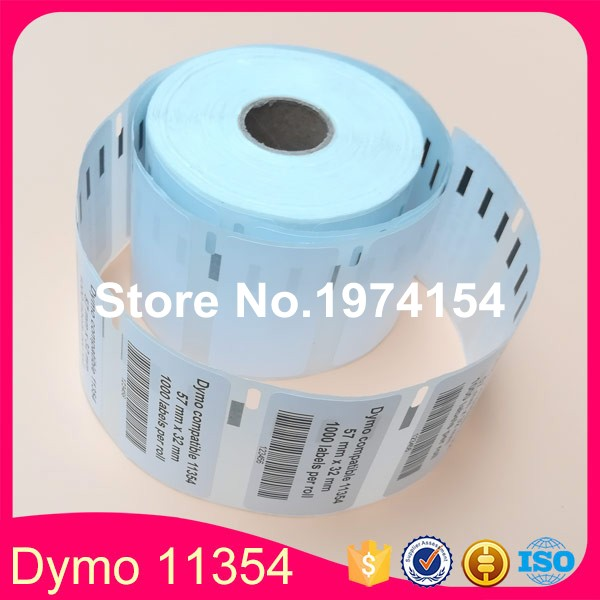 90x Rolls high quality custom Printable private barcode dymo 11354 label