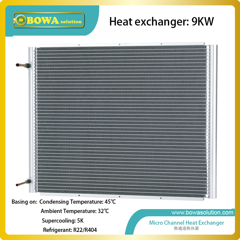 9KW L shape condenser without fan replace wire on tube heat exchanger  for refrigerant recovery machine genuine leap brand refrigeration tools over the mini cylinder refrigerant recovery machine vrr12l refrigerant recovery machine