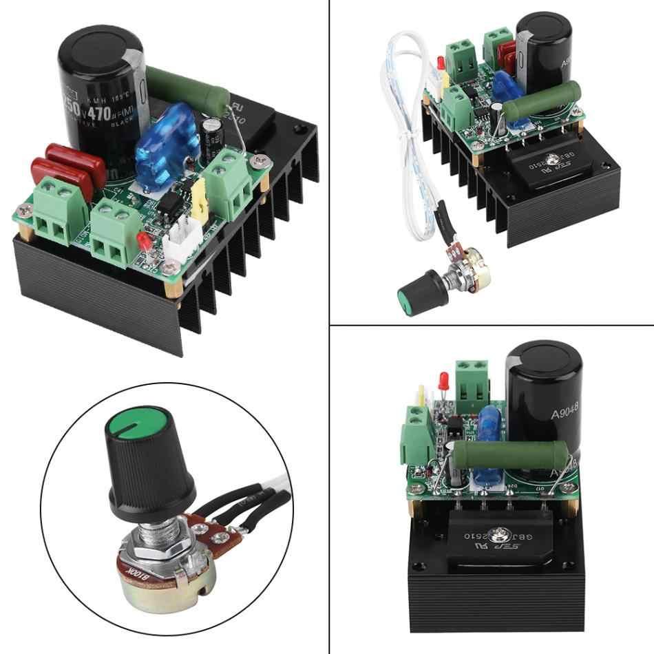 AC 12-110V/ DC 15-160V 300W DC Motor Controller Governor Ultra-high Voltage Scope Driver