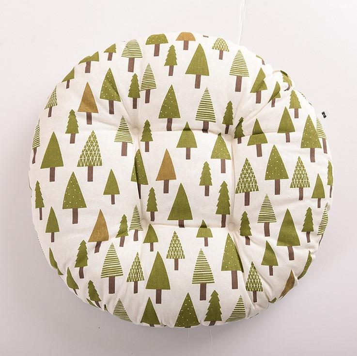 HTB1Z3c0BIyYBuNkSnfoq6AWgVXag Round Shape 2 Size Seat Cushion Silk Cotton Core Cotton Polyester Tatami Cushion Pillow Home Decoration Car Soft Sofa Cushion