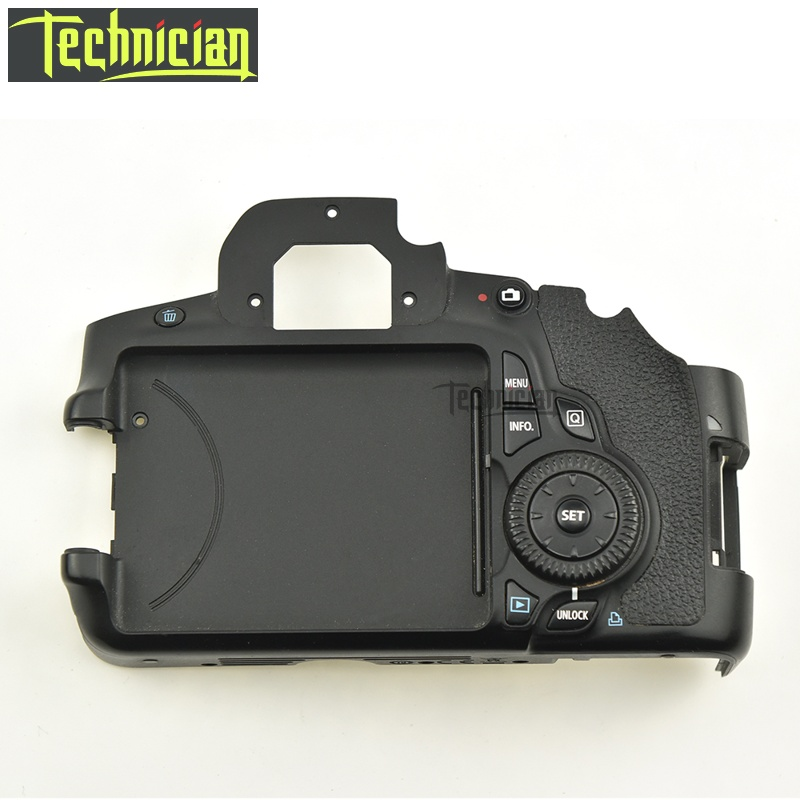 60D Rear Back Cover With Buttons Flex Cable No LCD Screen Camera Replacement Parts For Canon