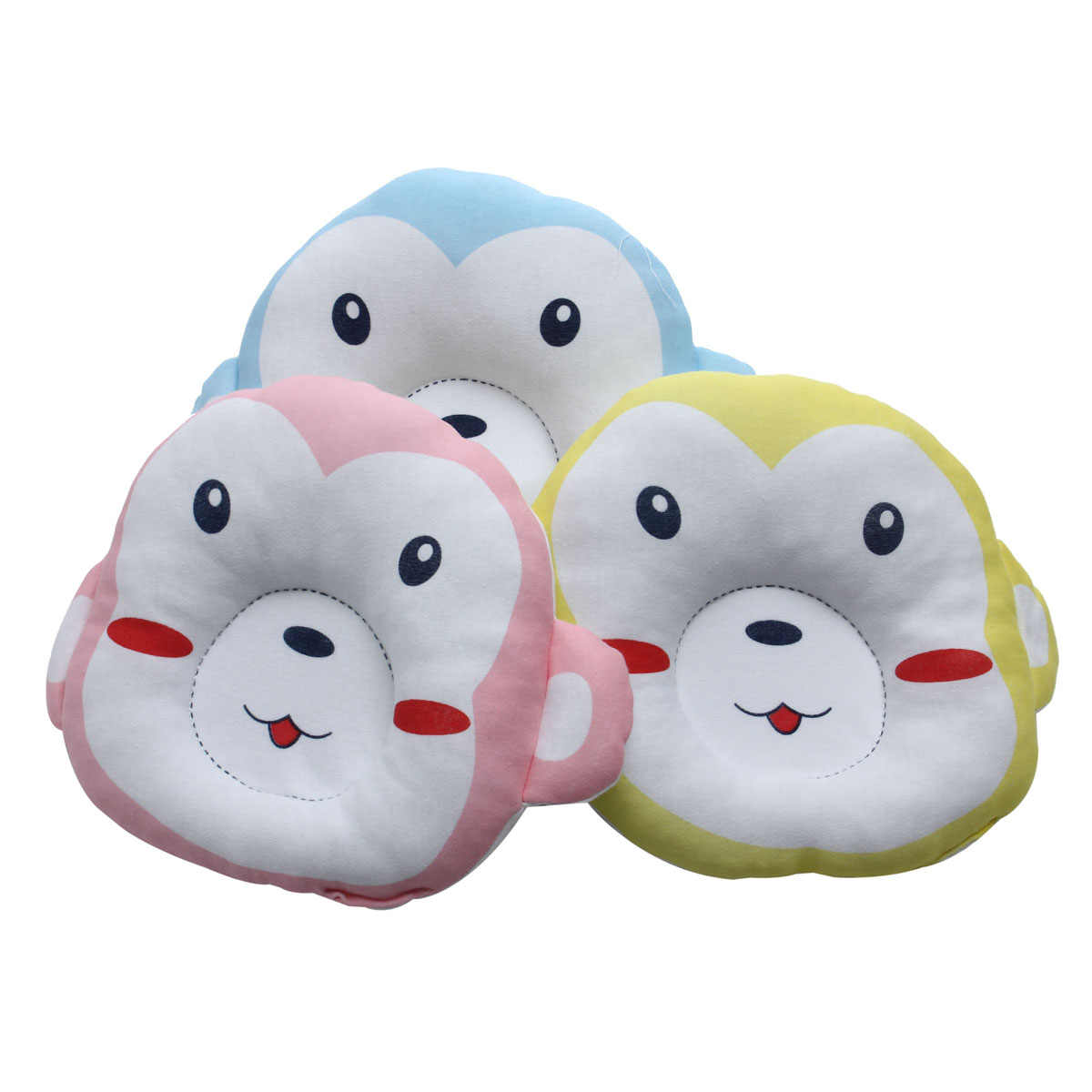 2pcs/lot Monkey type cotton Newborn infant Baby shaping pillow Breastfeeding Feeding Nursing Arm Support Cushion pillow