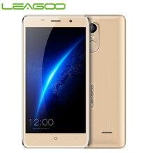 Original Leagoo Mobile Phone Smartphone Android 6.0 MT6580A Quad Core 2GB+16GB 5.0 inch Metal Frame WCDMA Fingerprint Cellphone