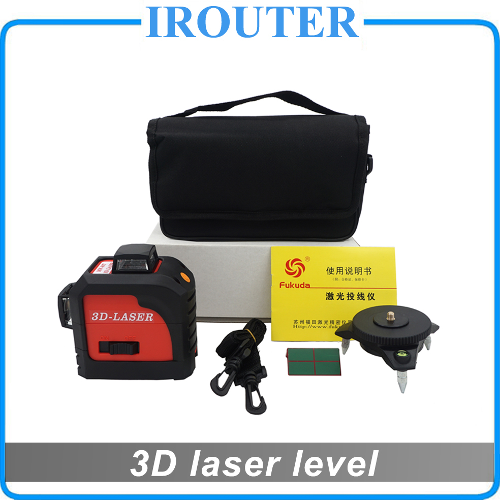 Fukuda,MW-93T 3D 12Lines laser level,Self-Leveling 360 Horizontal,Vertical Cross Super Powerful thyssen parts leveling sensor yg 39g1k door zone switch leveling photoelectric sensors