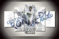 Unframed Printed Cristiano Ronaldo Painting On Canvas Room Decoration Print Poster Picture Canvas Art Picture
