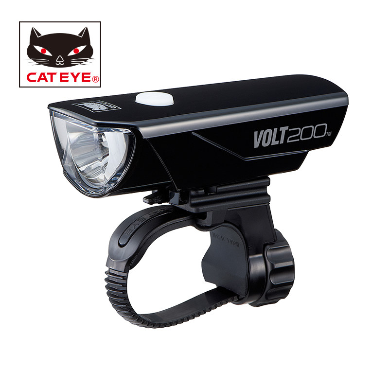CATEYE Bicycle Headlight Bike Light Flashlight USB Rechargeable Lamp Cycling Waterproof LED Front Lights Bicycle Accessories
