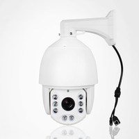 6 2MP IP PTZ Camera CCTV Sony CMOS 20x Zoom 1080P High Speed Dome Outdoor Onvif