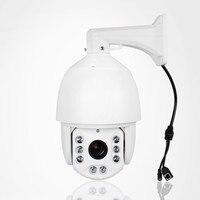 6 2MP IP PTZ камеры видеонаблюдения sony CMOS H265 20x зум 1080 P Скорость открытый купол Onvif Full HD WDR 100 м ИК расстояние