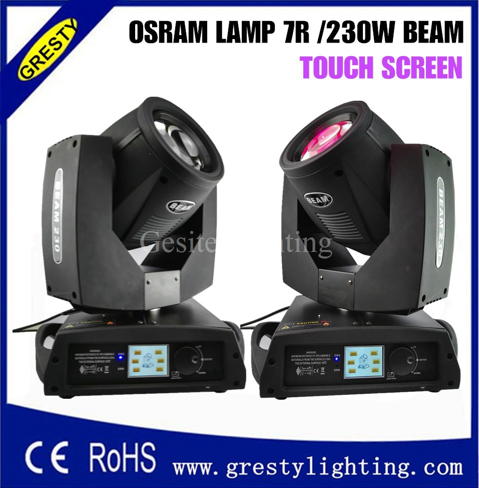 Flight Case 2in1 Packing 230w Sharpy 7r Beam Moving Head Light,beam 7R 230 Pro Lighting Moving Heads/sharpy 7r Moving Head Beam
