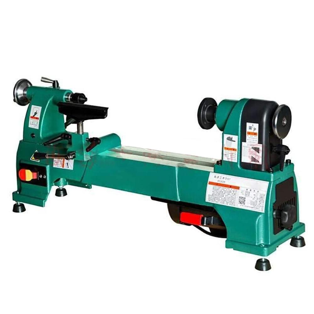 H0624 Elektrische Holzbearbeitung Drehmaschine Haushalt 10 Inch Speed-regulierung Drehmaschine Holz Handwerk Verarbeitung Holzbearbeitung Drehmaschine 220V 750W