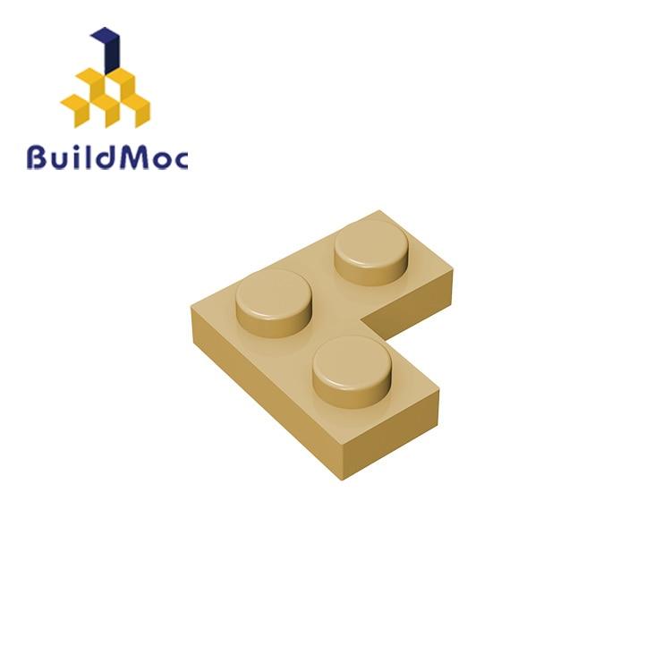 BuildMOC Compatible Assembles Particles 2420 Plate 2x2 Corner For Building Blocks Parts DIY LOGO Educational Creative Gift Toys