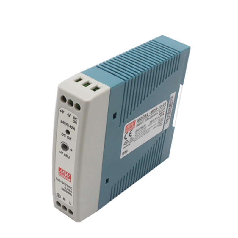 MDR-20 20 W de salida única de 5 V 12 V 15 V 24 V, carril Din de conmutación fuente de alimentación AC/ DC