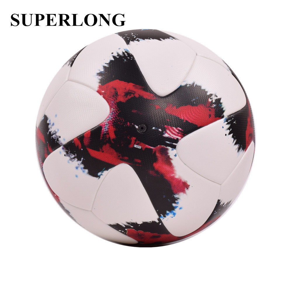 2018 New Premier PU Soccer Ball Official Size 5 Football Goal League Ball Outdoor Sport Training