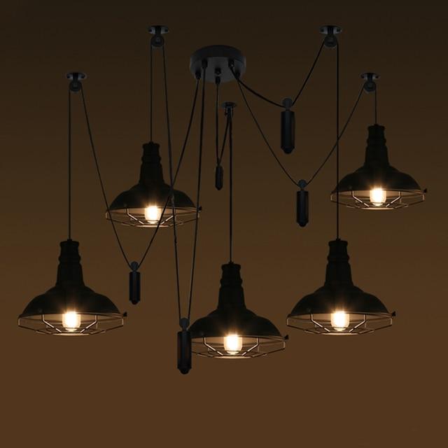 industrial restaurant hanging pendant ceiling loft living decoration ceilings item home lamp vintage antique lighting room lights