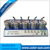 Multifunctional 5 in Mug heat press Machine for printing mugs with promoting price