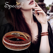 Special European and American fashion bracelet neck chain clavicle two trendy women multi-layer necklace