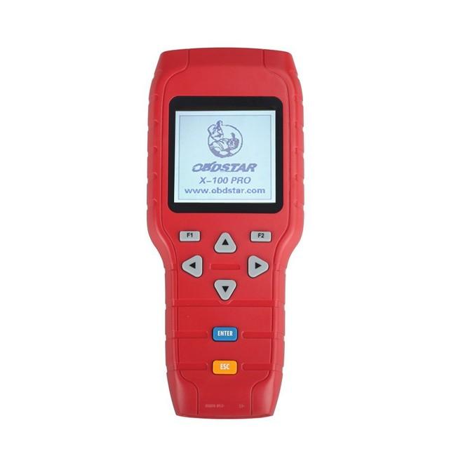 Original OBDSTAR X-100 X100 Pro Auto clave programador OBD2 Key hacedor inmovilizador programación ajuste del odómetro + OBD Software DHL
