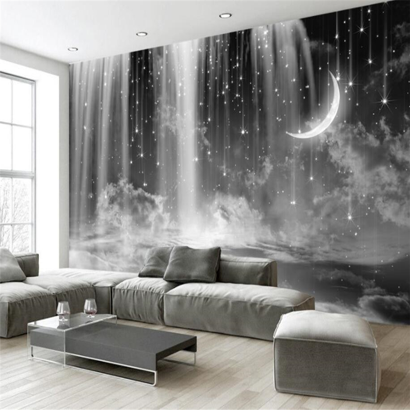 Beibehang Wall Paper Mural Living Room Bedroom Custom