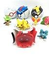 4 Estilos de Jogar Automaticamente Salto Pokeball com Aleatório Figuras Anime Brinquedos Criativos para Crianças Presentes Crianças Brinquedo Do Bebê
