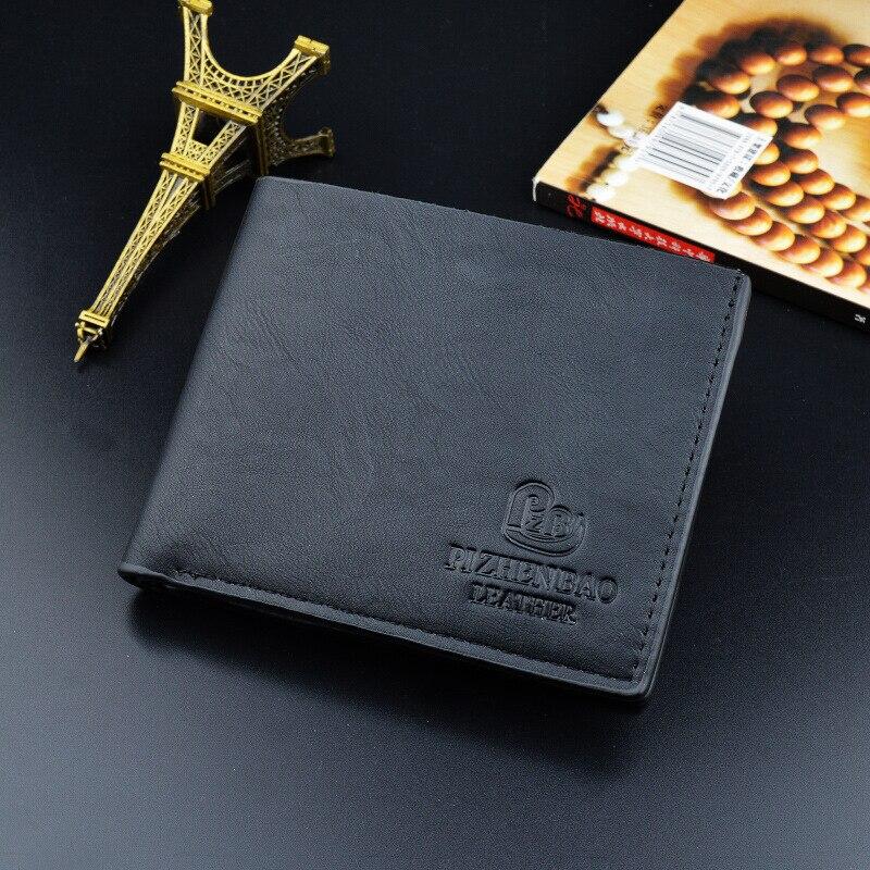 män plånbok varumärke mode nya 2018 handväska läder manlig - Plånböcker