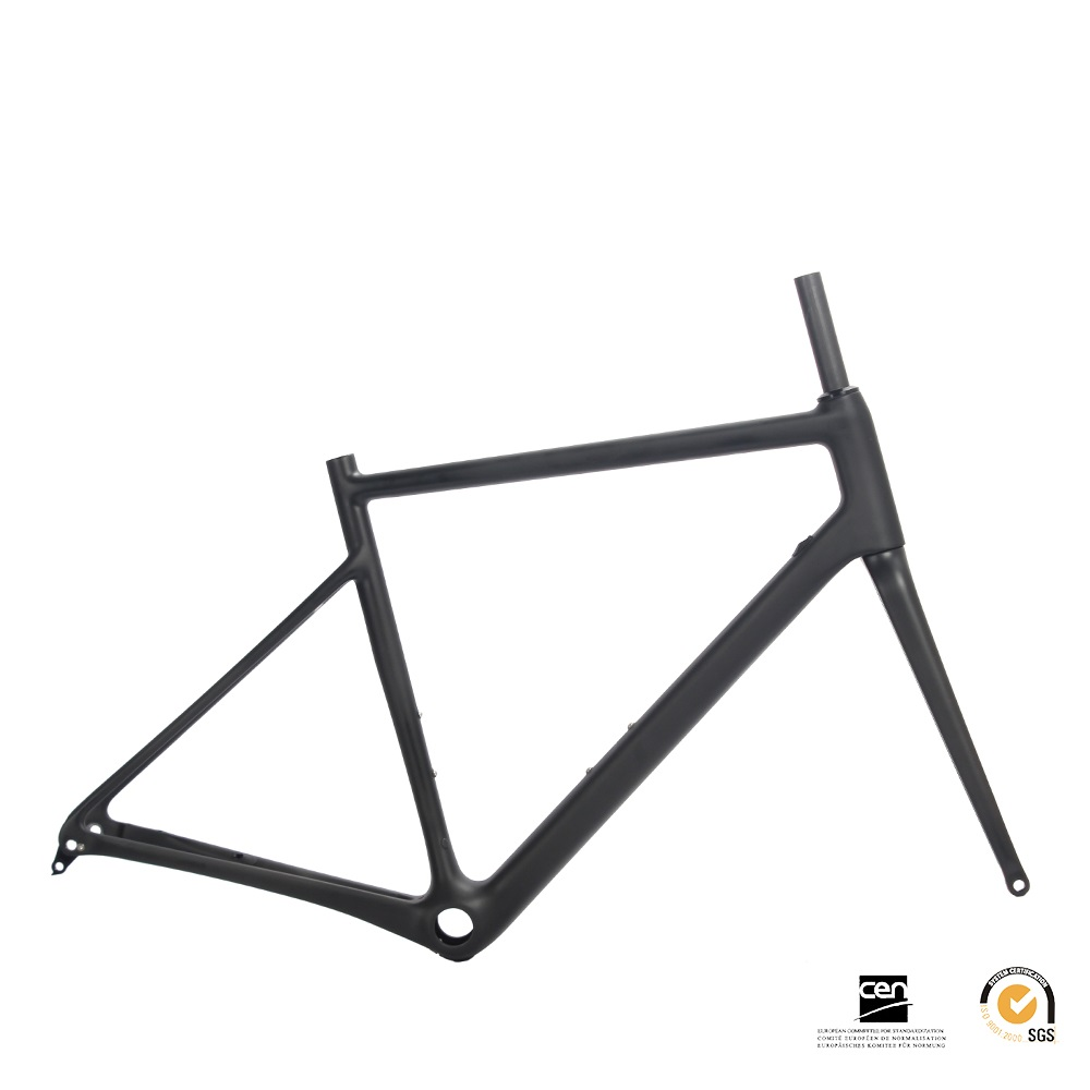 Carbon super light road racing bike bicycle frame fork seatpost 815g DI2 ready for size 54CMCarbon super light road racing bike bicycle frame fork seatpost 815g DI2 ready for size 54CM