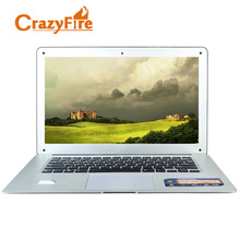 CrazyFire России Бесплатная доставка 14 дюймов quad core ноутбук с русским клавиатуры 4 ГБ оперативной памяти и 128 ГБ SSD Бизнес Windows 10