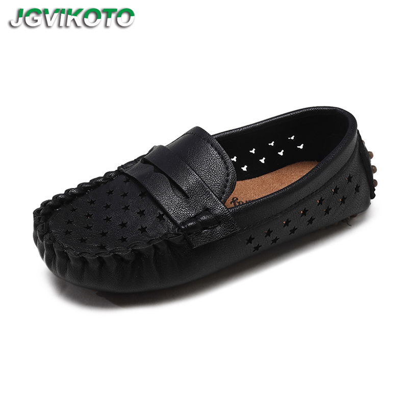 New Kids Casual Shoes Boys Loafers Fashion Childrens Flats Soft Breathable Cut-outs Leather Shoes For Big Boy Moccasin Slip-onsNew Kids Casual Shoes Boys Loafers Fashion Childrens Flats Soft Breathable Cut-outs Leather Shoes For Big Boy Moccasin Slip-ons