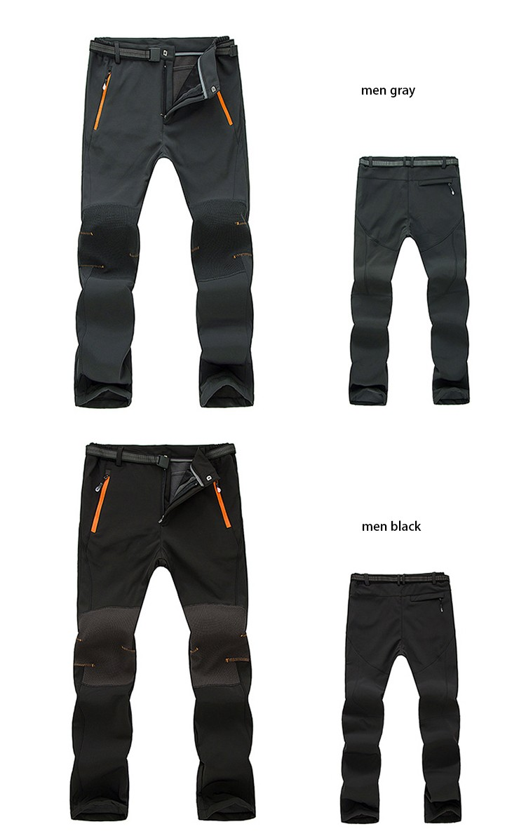 THE ARCTIC LIGHT Winter Outdoor Windproof Snowboard Ski Pants Men Snow Trousers Waterproof Windproof warm Breathable 3