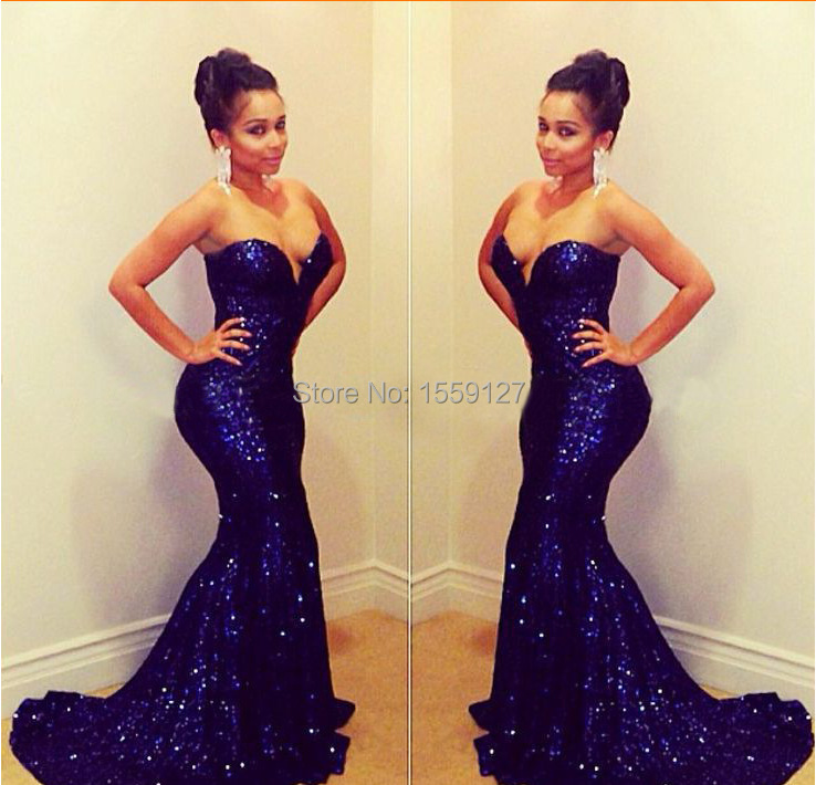 Online Get Cheap Fitted Blue Prom Dress -Aliexpress.com   Alibaba ...