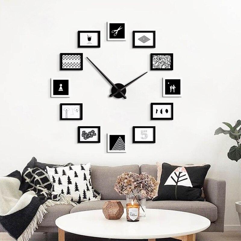 Lujoso Foto Diy Reloj De Pared Marco Colección de Imágenes - Ideas ...
