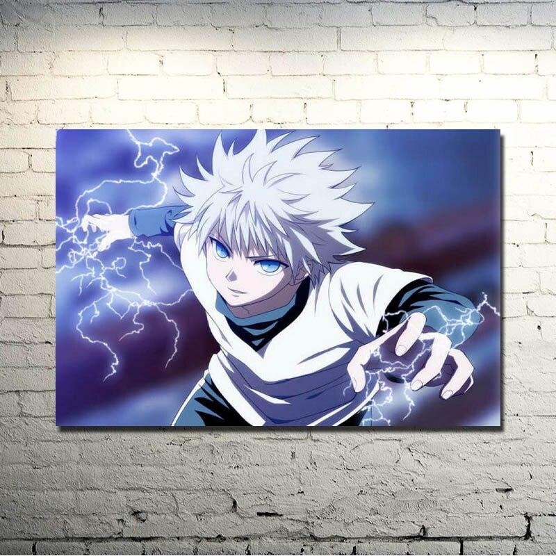 Hunter x Hunter Anime Art Silk Fabric Poster Print 13x20 Inch Wall Pictures For Living Room Decor Killua GON FREECSS 028