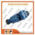 NEW Fuel Injector (4) FOR FIT CITROENPEUGEOT Xsara Saxo 206 306 Picasso Hatchback 1.5L 1.6L L4  0280155794 1994-2010
