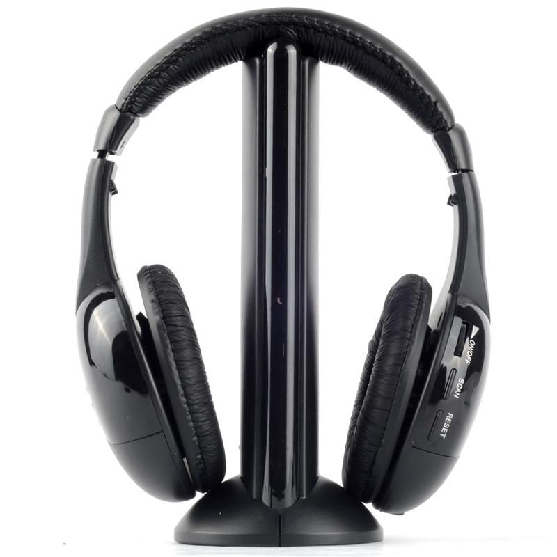 Wireless Headphones Headset MH2001 MP3 MP4 PC CD DVD Audio TV FM Radio Earphones & Headphones fm wireless transmitter diy kit tfm009 fm radio dc 1 5v 9 0v for wireless microphone low power fm radio tv audio forwarding