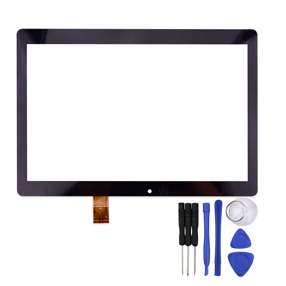 10.1 Inch Touch Screen for 4GOOd Light AT300 Tablet Capacitive Panel Digitizer Glass Sensor Replacement with Free Repair Tools genuine repair part replacement touch screen digitizer module with bus wire for htc sensation