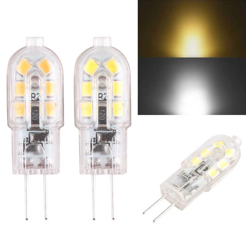 2 Pc G4 12 V 2835 żarówka SMD silikonowe lampy kryształowe 220 V 3 W przyciemniane światło LED światła Canbus wysokiej jakości super jasne miękkie oszczędzania energii