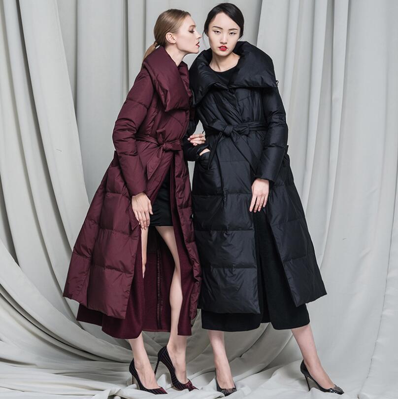 Couture Red Pardessus Chaud W274 Hiver Femmes Femme wine Survêtement Mode Canard 90 Black Laine 2018 Blanc Parkas Doudoune Duvet Manteau De qWPBFqRw