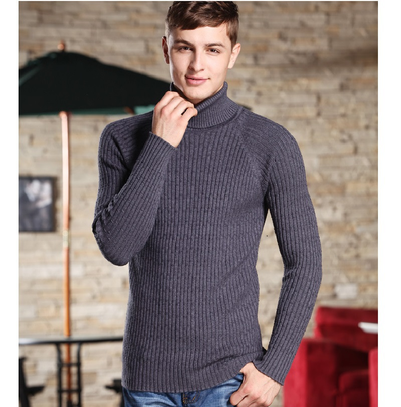 Wool sweaters mens for Sweater over shirt men