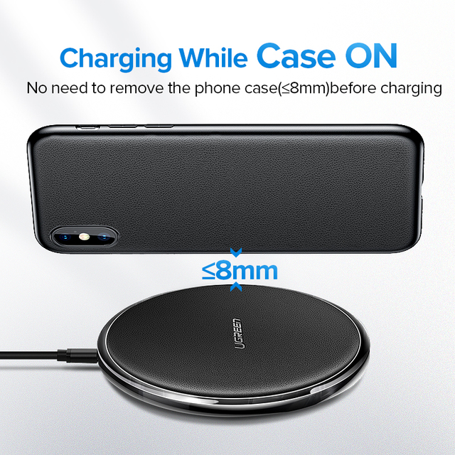 Leather Universal Wireless Charger for Phones