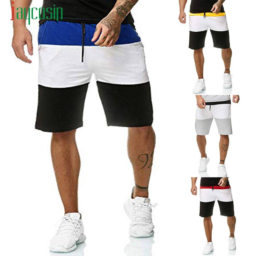 summer dress mens Fashion Men's Splicing New Style Cotton Multi-Pocket Overalls   Shorts   Fashion Pant FOR BOY x 40