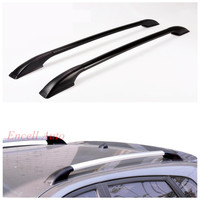 2pcs Set Aluminum Alloy Roof Racks Roof Boxes Roof Rack Bars Roof Rack Sticker Fit For